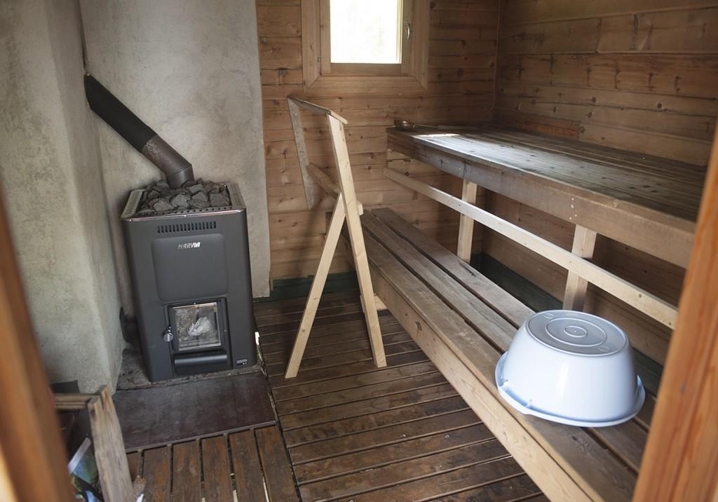 Selkälän sauna.